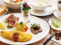 【朝食】季節のスープで身体を心から温めて、健康的な朝食でリフレッシュしませんか。