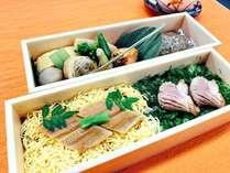 *<当館オリジナル>穴子とビーフよりどりお弁当
