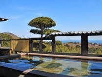 *新相模の湯 晴天時は青い空と海、山の緑の眺望をお楽しみいただけます。