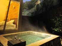 全5室すべてに露天風呂、内風呂を完備!お湯は別府八湯の一つ亀川温泉の湯。