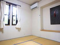 和室。エアコン付き。