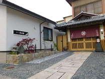 外観 玄関を出ると東海道筋です観光・ビジネスで御利用下さい
