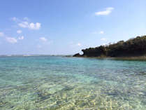 海水浴場はすぐそば 大自然に囲まれた最高に良い環境です。たまにウミガメも見れますよ
