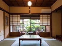 梅の間 ゆったり庭付き和室13畳<イメージ> 小田原駅徒歩3分