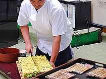 絶品・岩国寿司♪当館ならではの味をお楽しみ下さい☆