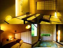■東一花-露天風呂付メゾネット-■湯に浸かり、のんびりとくつろぎ、石川の幸をお楽しみ下さい