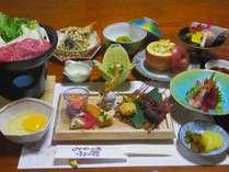 *【夕食一例】おすすめプラン