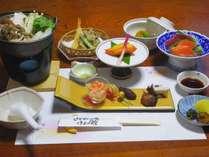 *【夕食一例】とくとく平日プラン/お料理は、「美しく美味しく」を心がけております。