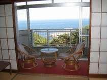 和室 2階からの眺望