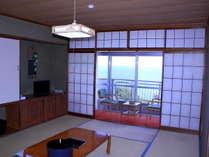 2階海の見える和室 10畳