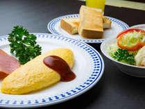 【朝食(洋食一例)】和食・洋食をお選びいただけます。