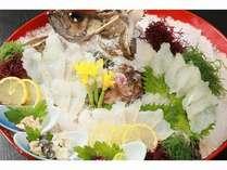 天然活魚を食べつくす船宿割烹プラン