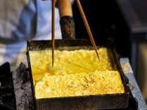朝食ブッフェ 実演で厚焼き玉子をご提供♪