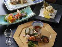 【ご夕食一例:春会席】季節の味覚をお届けいたします