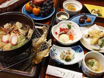 お手軽コースの料理イメージです。ボリュームたっぷりの郷土料理をご堪能下さい。