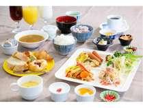 手作りにこだわった朝食バイキング 6:15~9:00(日曜祝日7:00~9:30)