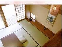 【数寄屋座・メゾネットタイプ】広々とした2階建てのお部屋。