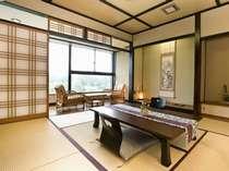 【光雲閣】【和洋室、二間】日本庭園の眺望を楽しむ心安らぐお部屋