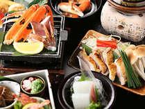 【広間食】<夏が旬!絶品白いか満喫!>&鳥取和牛オレイン55+焼き蟹を堪能~贅沢プラン~