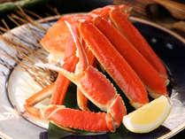 【夕部屋食】旨みたっぷりのズワイ蟹「茹で+焼き+なべ」絶品の蟹会席でカニ旅行プラン♪