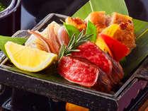 【最上級会席×広間食】鳥取ブランド和牛&旬の刺身を贅沢に味わう ~特選会席■