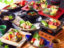 【早期割■グレードUP】早めの予約で最大25%引き!当館最上級会席を愉しむ~特選会席/広間食