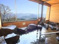 * [展望風呂/4月~10月限定] 北信の山々や千曲川などの雄大な景色を一望できます!