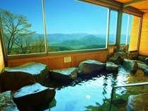 *展望風呂/北信の山々や千曲川などの雄大な景色を一望できます!