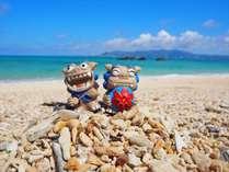 沖縄といえば青い海!