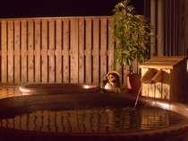 温泉は、ご家族だけで貸切利用ができます。大切な時間をお子さまといっしょに。