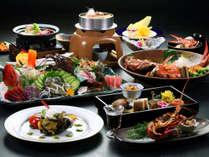 【贅沢三昧】伊勢海老&鮑&金目鯛&牛を存分に味わえるコース