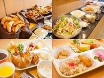 朝食無料◆7:00~9:00 焼き立てパンやご飯、和食、洋食など日替わりでお楽しみ頂けます♪