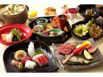 料理長おすすめ☆旬の食材を使用した会席料理※写真はイメージ