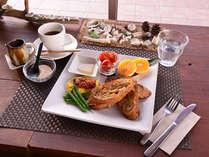 *ご朝食一例/やんばる(山原)食材をふんだんに活かした、栄養バランスの整った朝ごはん。