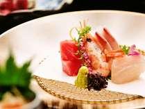【お造り】日本海の新鮮な海の幸※ご夕食一例