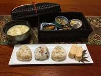 「織り屋の朝ごはん!」京野菜を使ったお料理です。