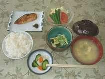 湯治&ビジネスプラン 朝食(見本)