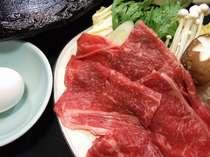 国産牛のすき焼き小鍋(オプション)