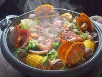 魚介類・自家製野菜・お肉を使ってボリューム満点♪