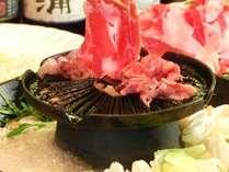 <学生グループプラン(1)>たっぷり♪豚肉「250g」の名物「焼きしゃぶ」で満腹温泉♪