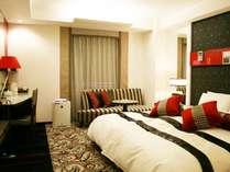 プレミアムエグゼクティブダブル 23平米 ベッド幅200cm