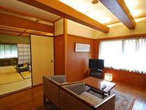 <中庸>階段移動が比較的少ないので、ご年配にもおすすめの雲山御坊のお部屋。