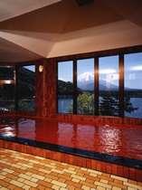 富士山樹海精進湖を一望できる大浴場
