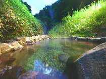 女性専用露天風呂 「山ゆりの湯」