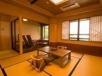 足場ルーム付き客室で贅沢なひとときを・・・(特別室)