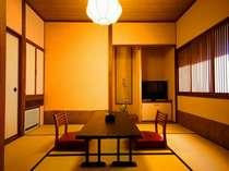【本館客室まなご】 本館和室+ツインベットルーム