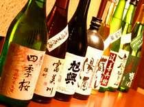栃木の地酒もご用意いたしております
