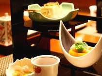 那須の土地で採れた旬の幸、吟味された素材を取り合わせた豊かな味わい