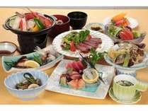 夕食は当館最上級の「浅間」コース☆地産地消の豪華和食会席!~朝食はバイキングor個出しです♪~