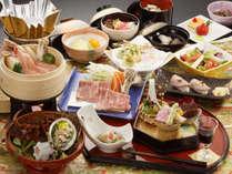 【前沢牛・伊勢海老・あわび・ズワイガニの和食膳】真心と贅の限りを尽くした旬を是非ご賞味下さい。
